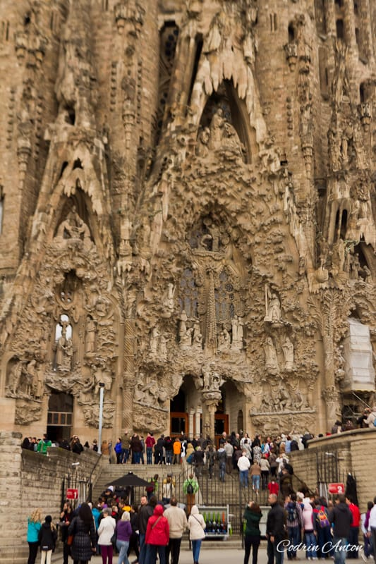 Barcelona ziua 2 Sagrada Familia © Codrin Anton FOTOGRAF – www.CodrinAnton.ro