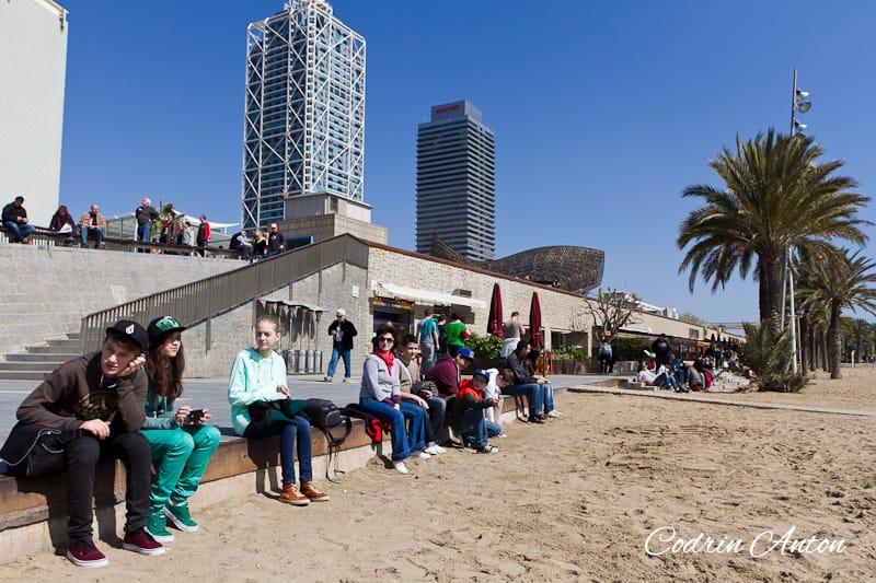 Barcelona ziua 4 Plaja Barceloneta © Codrin Anton FOTOGRAF – www.CodrinAnton.ro