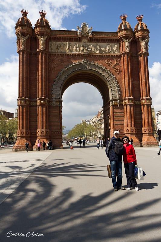 Barcelona ziua 3 Arcul de Triumf © Codrin Anton FOTOGRAF – www.CodrinAnton.ro