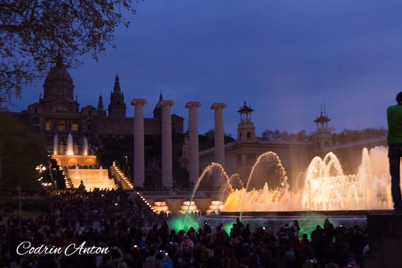 Barcelona ziua 3 Fantanile Magice © Codrin Anton FOTOGRAF – www.CodrinAnton.ro