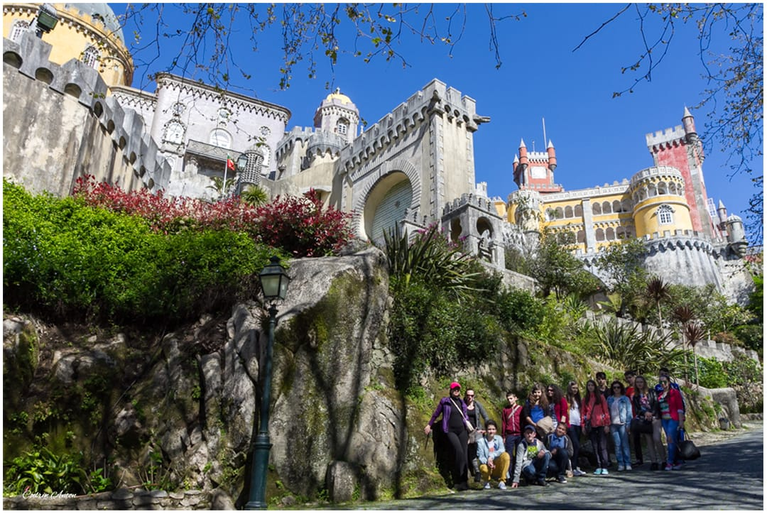 Portugalia Sintra Palatul Pena aprilie 2014 © Codrin Anton FOTOGRAF – www.CodrinAnton.ro