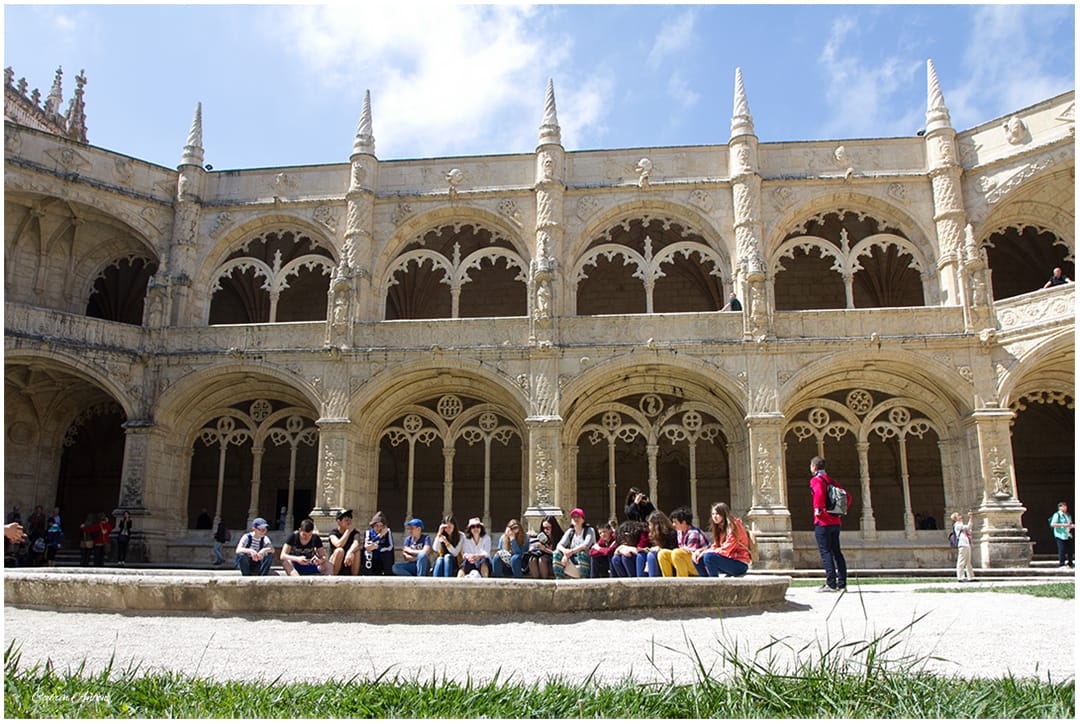 Lisabona Mosteiro dos Jerónimos aprilie 2014 © Codrin Anton FOTOGRAF – www.CodrinAnton.ro