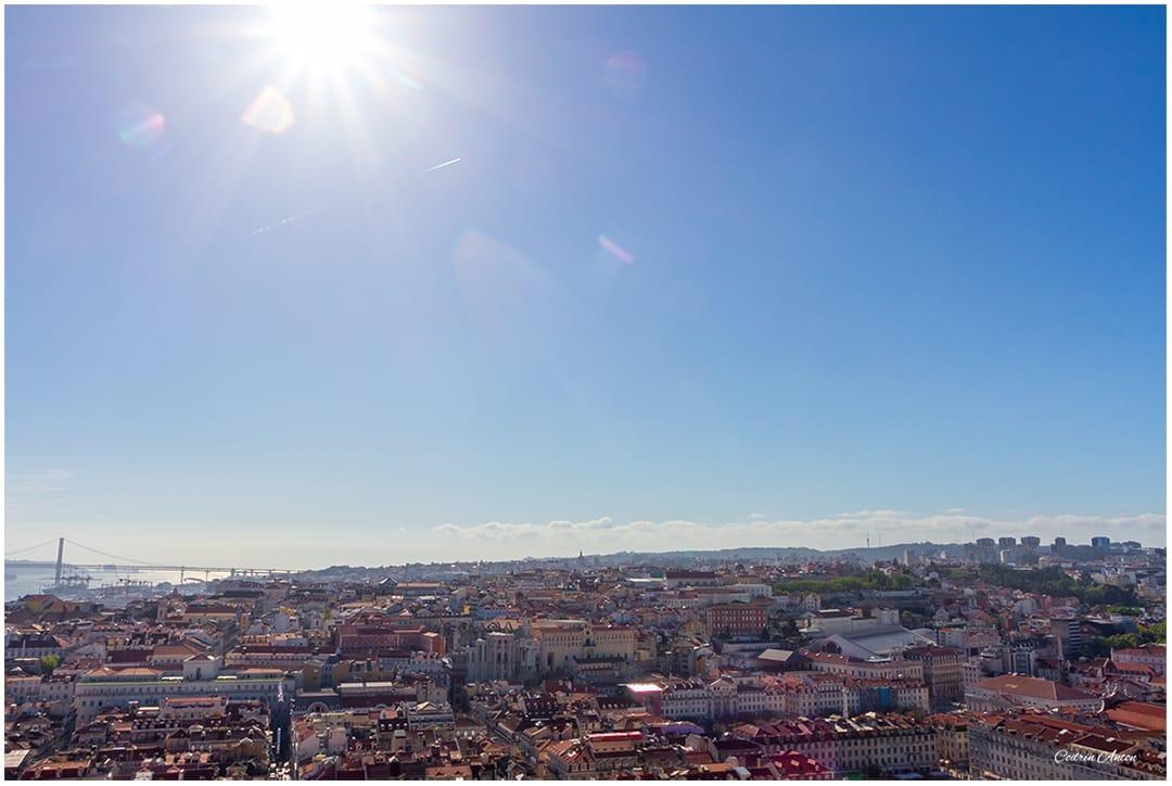 Lisabona vedere de la castelul Sao Jorge aprilie 2014 © Codrin Anton FOTOGRAF – www.CodrinAnton.ro