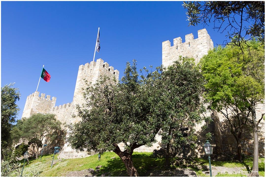 Lisabona castelul Sao Jorge aprilie 2014 © Codrin Anton FOTOGRAF – www.CodrinAnton.ro