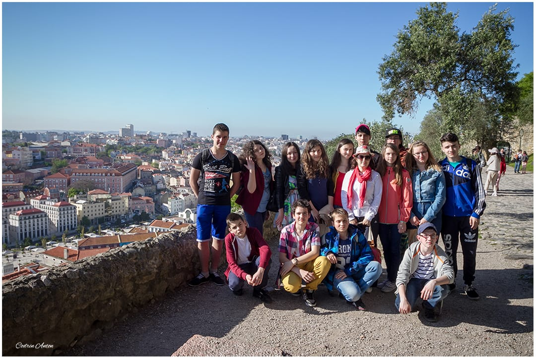 Lisabona la castelul Sao Jorge aprilie 2014 © Codrin Anton FOTOGRAF – www.CodrinAnton.ro