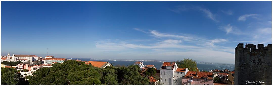 Lisabona vedere spre est de la castelul Sao Jorge aprilie 2014 © Codrin Anton FOTOGRAF – www.CodrinAnton.ro