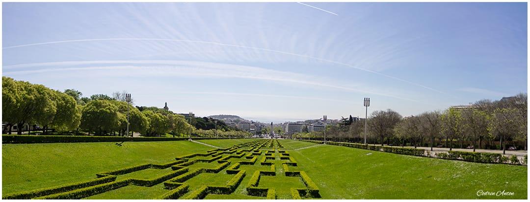 Primavara in Lisabona panorama Parc Eduard VII aprilie 2014 © Codrin Anton FOTOGRAF – www.CodrinAnton.ro