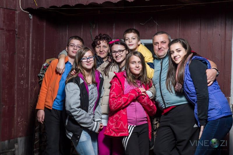 Fotografii de familie - la Boroaia - Familie