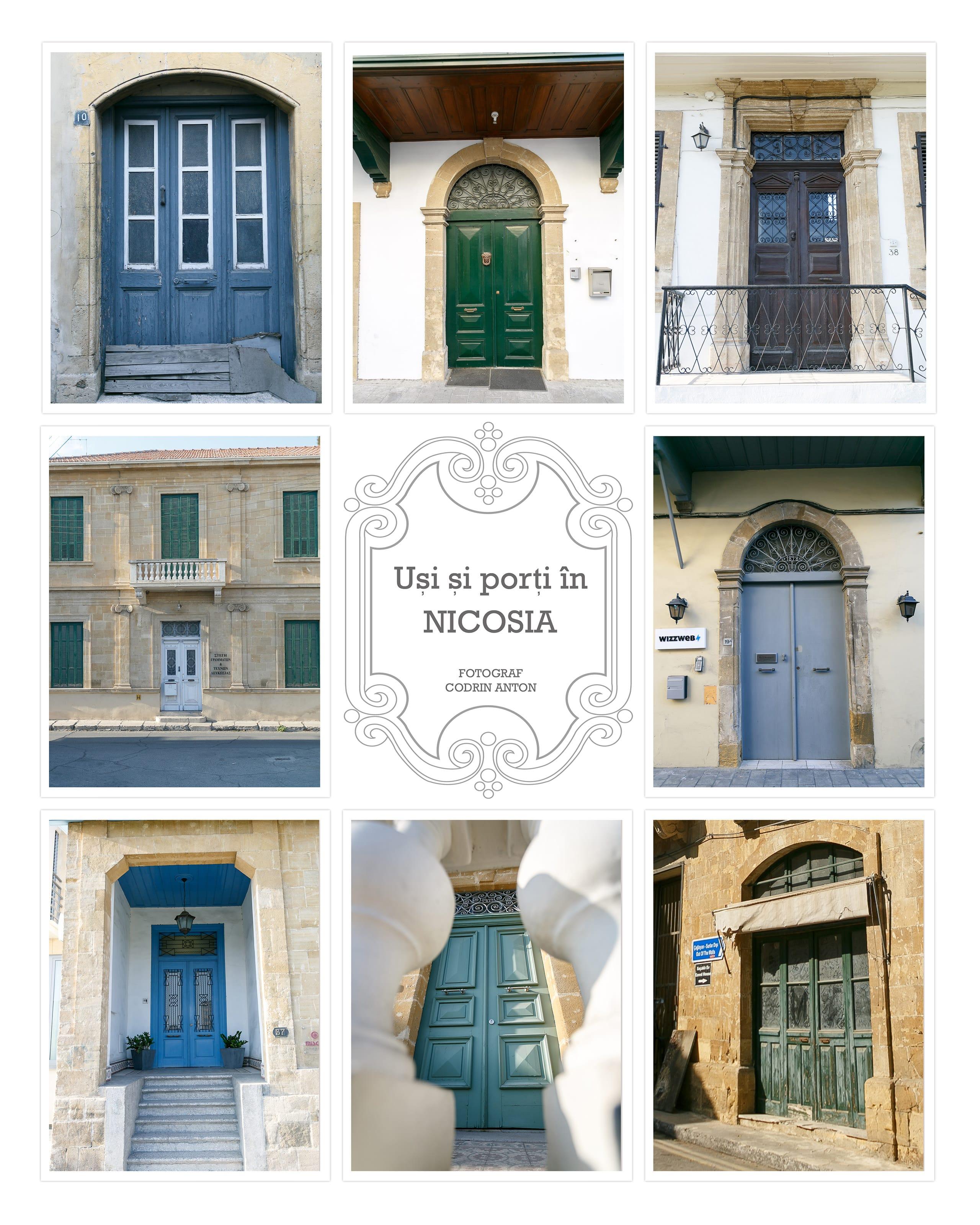 Proiect foto nou: uşi şi porţi în Nicosia - Diverse
